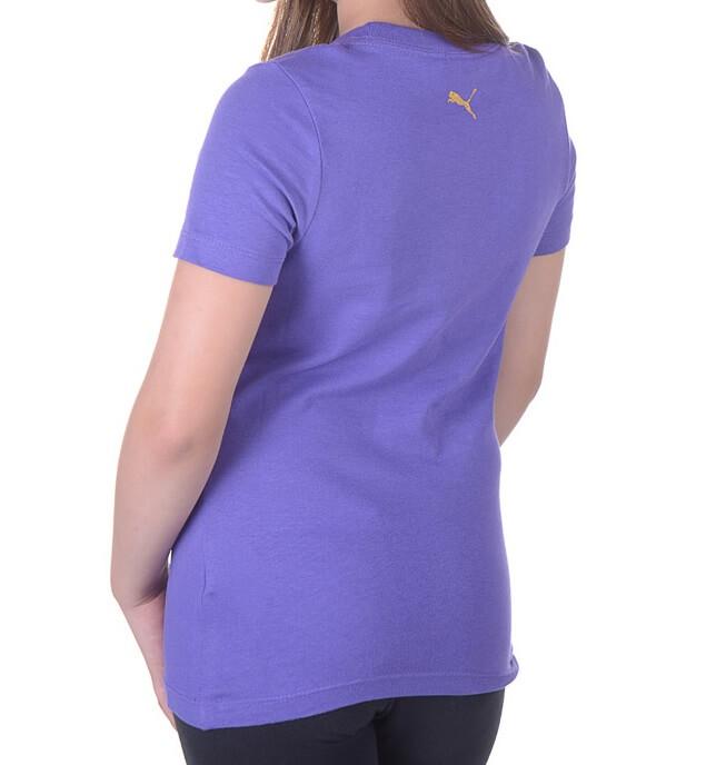Camiseta Infantil Puma Blusinha Com Logo Metálico Refletivo
