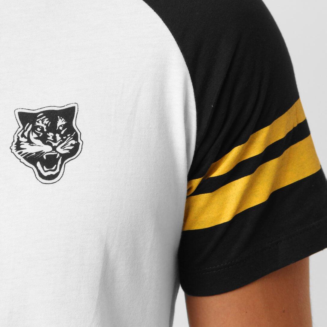 Camiseta masculina Onitsuka Tiger Baseball linha retrô Asics