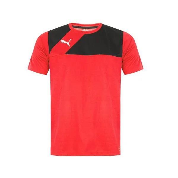 Camiseta masculina Puma Training Rubro Negra