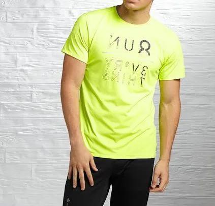 Camiseta Reebok Run Refletiva 360º CORRIDA NOTURNA