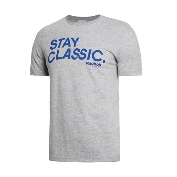 Camiseta Reebok Stay Classic Estilo Retrô Urban Wear Br8603