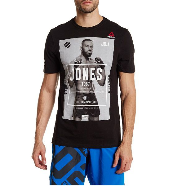 Camiseta Reebok Ufc Jon Jones Edição Especial Ah7508
