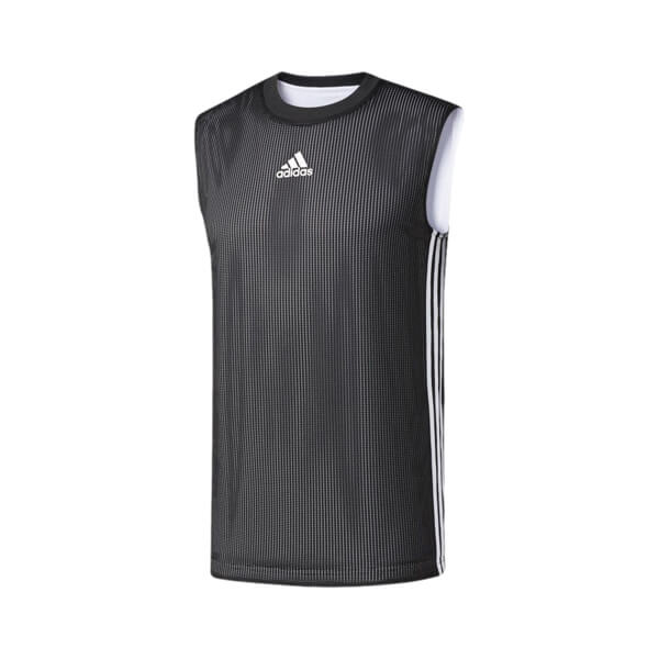 Camiseta Regata adidas Basquete Reversível 2 Em 1 Dupla Face