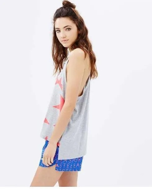 Camiseta Regata adidas Stellasport Star By Stella Mccartney