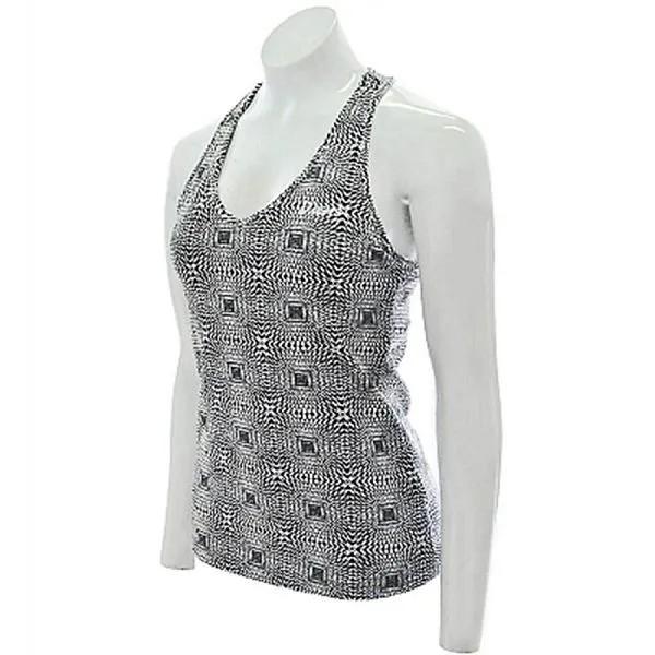 Camiseta Regata Asics 2 Em 1 Com Top Embutido Moda Fitness