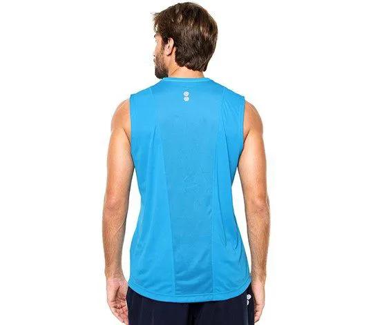 Camiseta Regata Reebok Para Academia E Corrida De Rua Ax9860