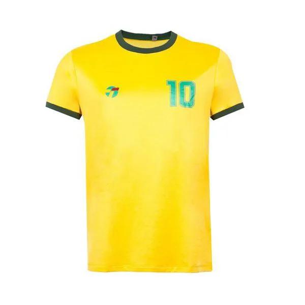 camiseta Topper Brasil retrô seleção brasileira