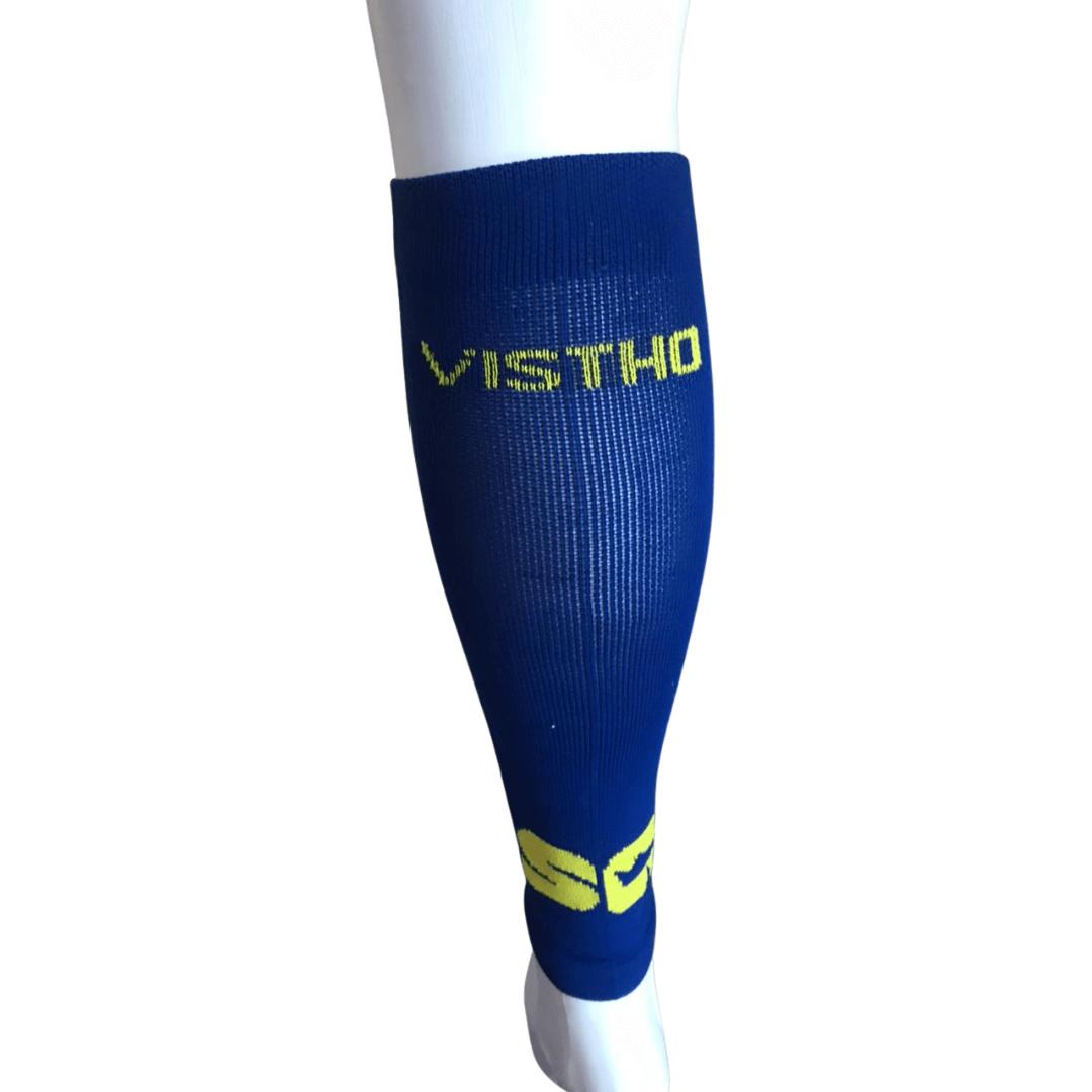 Canelito De Compressão Vistho Sp Esportes Sem Costura Azul