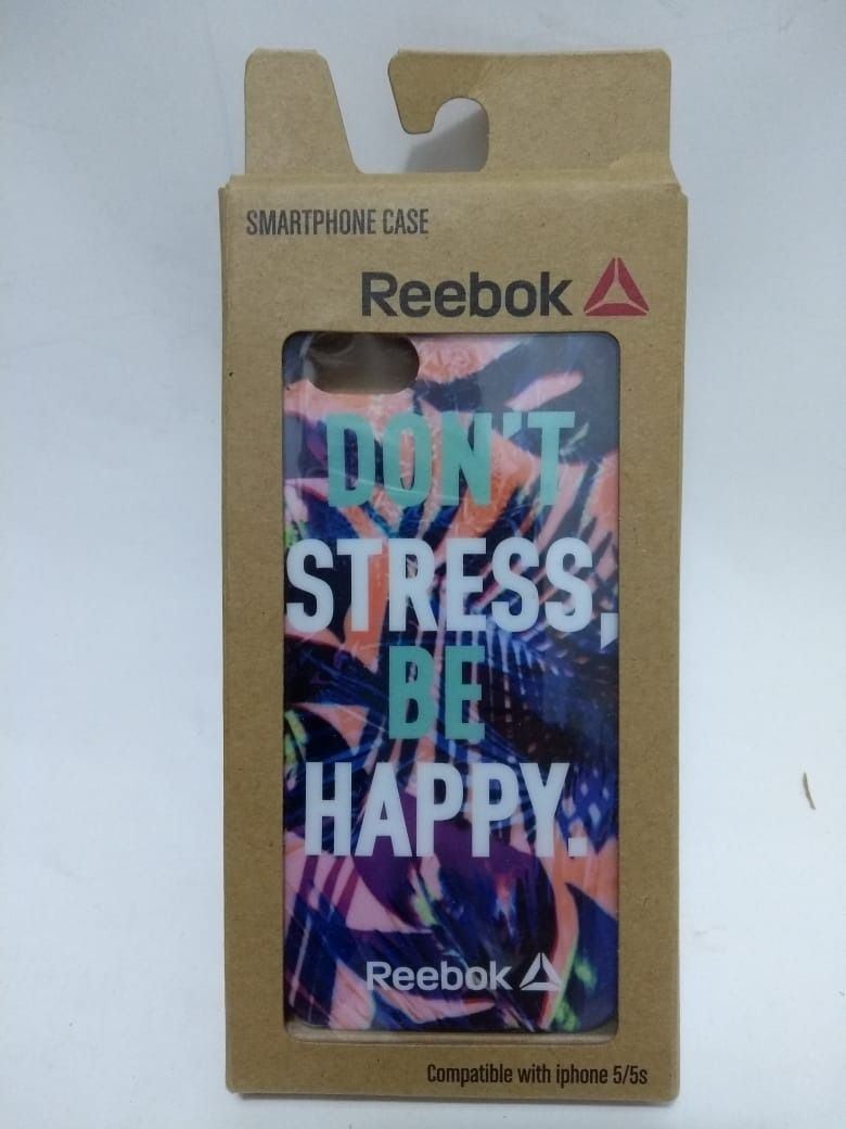 Capinha Reebok Para Celular iPhone 5s Capa Case Smartphone