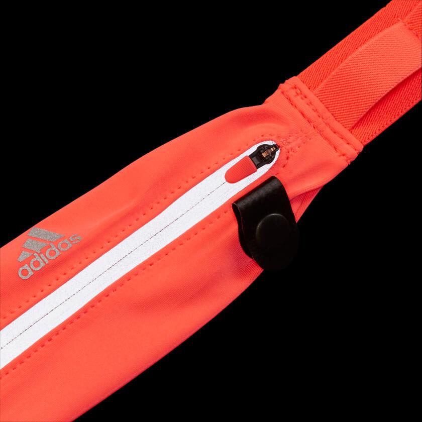 Cinto Adidas pochete com prendedor de número corrida de rua FT8475