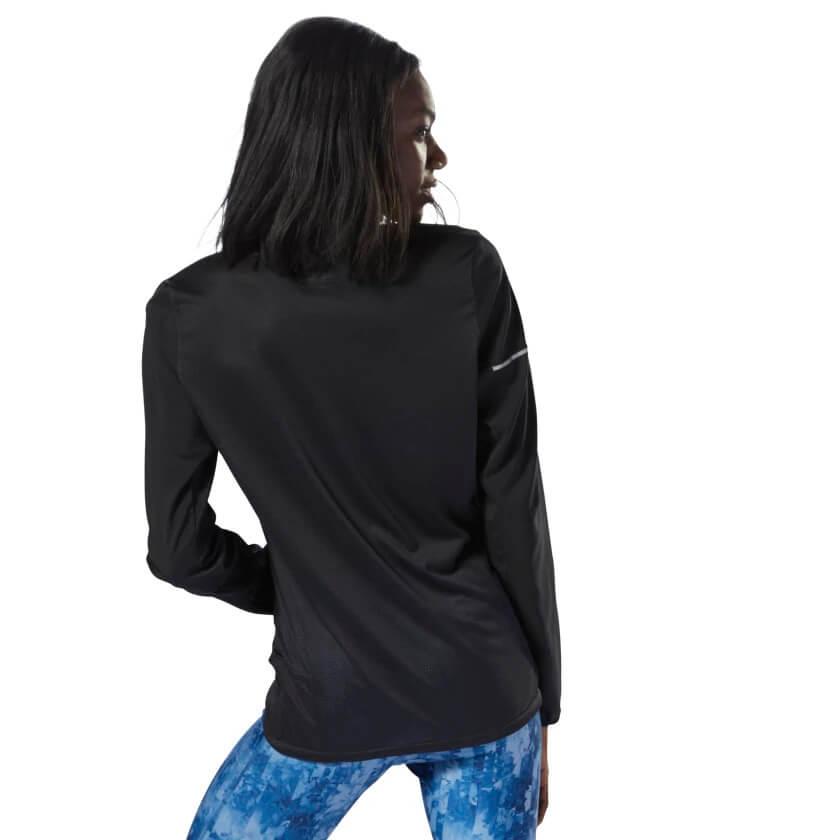 Jaqueta feminina corta vento Reebok run