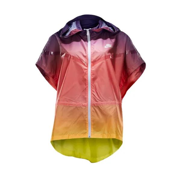 Jaqueta feminina Nike Sunset poncho corta vento