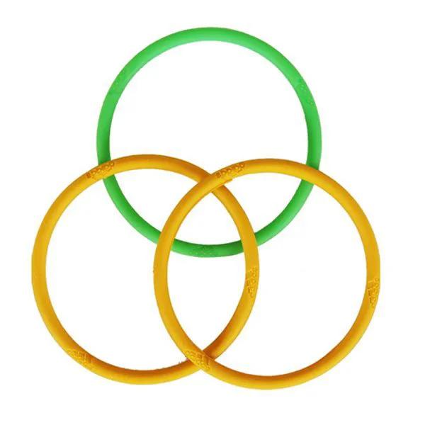 KIT 3 pulseiras Adidas Brasil Olympic ion thins
