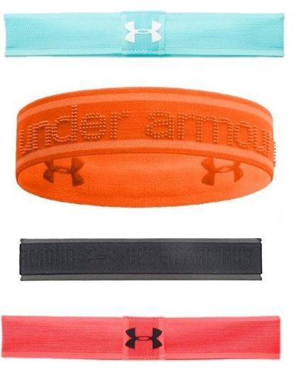 Kit 4 Faixas Under Armour Testeira Headband Tênis Crossfit