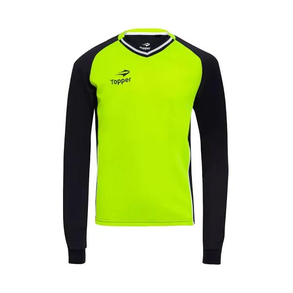 Kit Camisa E Bermuda Goleiro Topper Calção Futebol Infantil