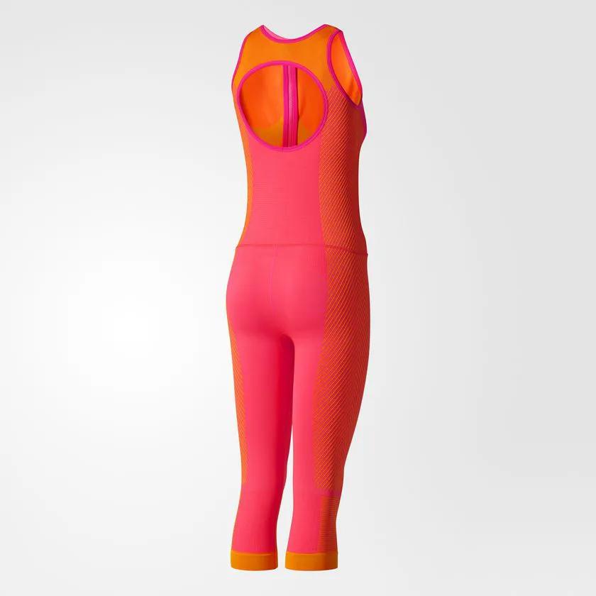 Macaquinho Adidas Stella Mccartney Seamless Studio Pilates