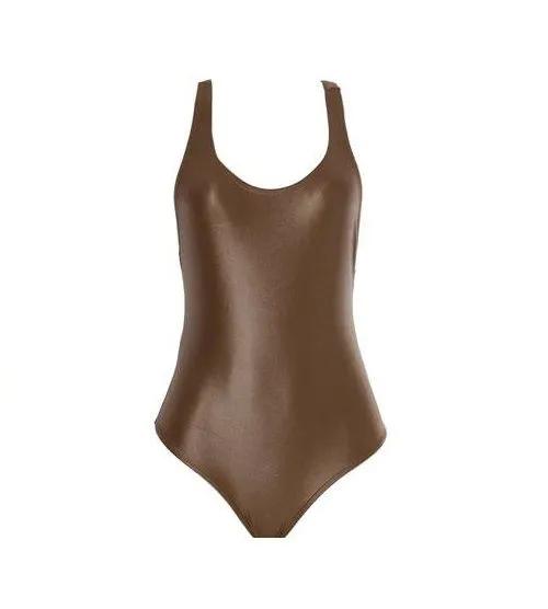 Maiô Body Bronze Da Líquido Moda Praia E Fitness