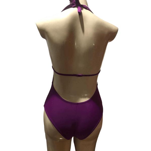 Maiô Violeta Cia Marítima Moda Praia Body Lycra 0534673