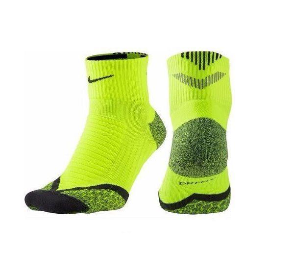 Meia Nike Elite Running Refletiva Para Corrida De Rua 42 43