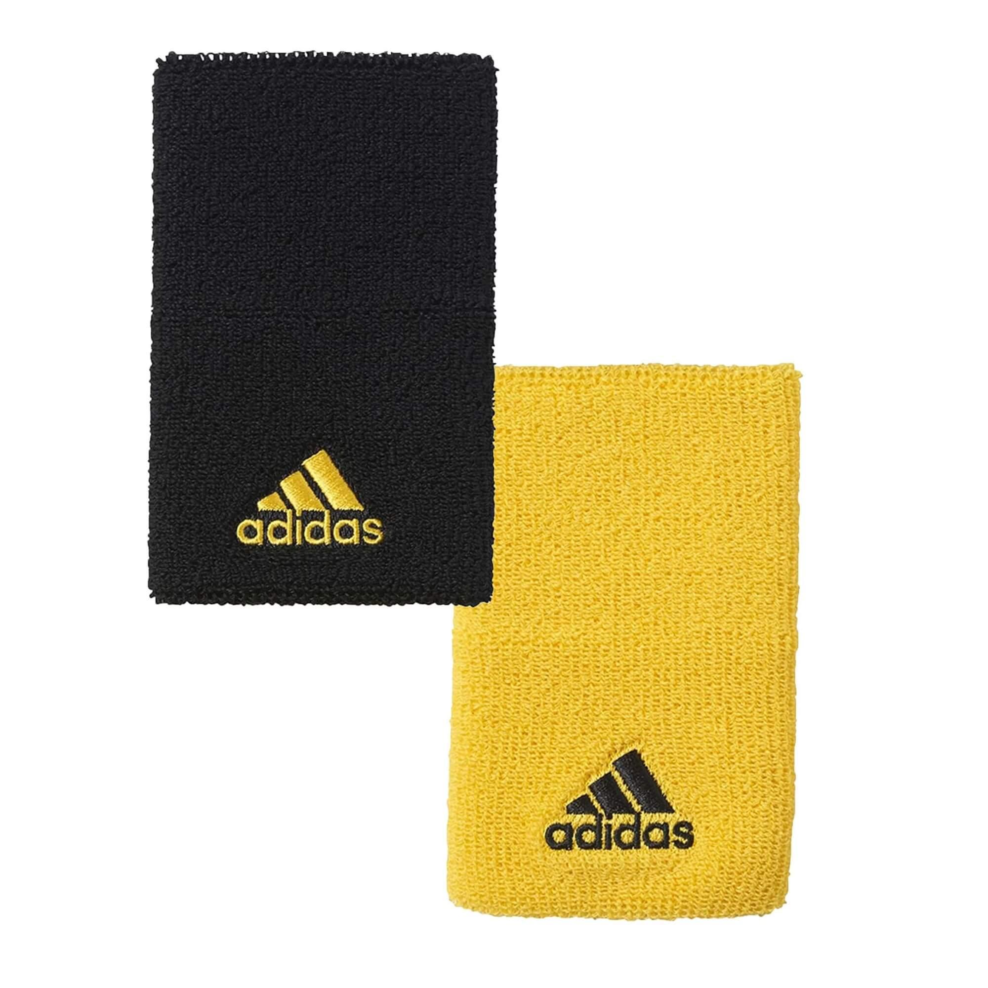 Munhequeira atoalhada Adidas 2 cores tênnis basket crossfit CE3155