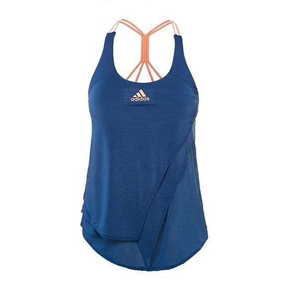 Regata feminina Adidas Melbourne com top de bojo embutido