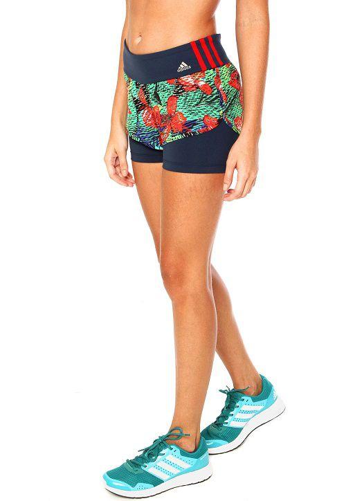 Shorts 2 Em 1 adidas Salinas Com Bermuda Interna Ay9571