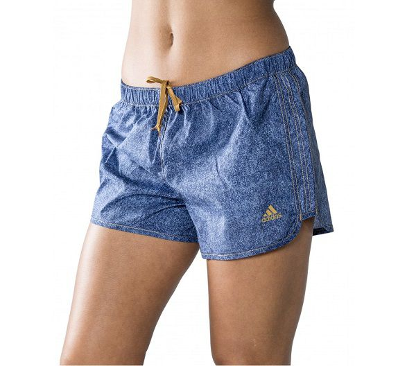Shorts adidas Marathon 10 Estampa Jeans Modelo Running
