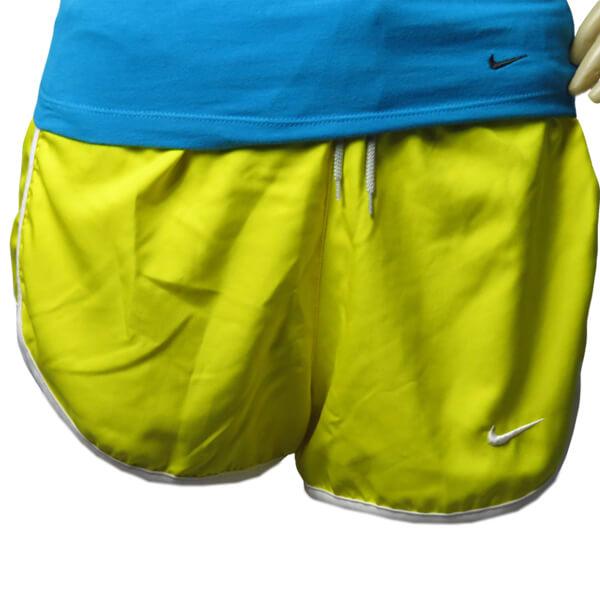 Shorts feminino Nike Run Tempo Track 3 Amarelo 459581