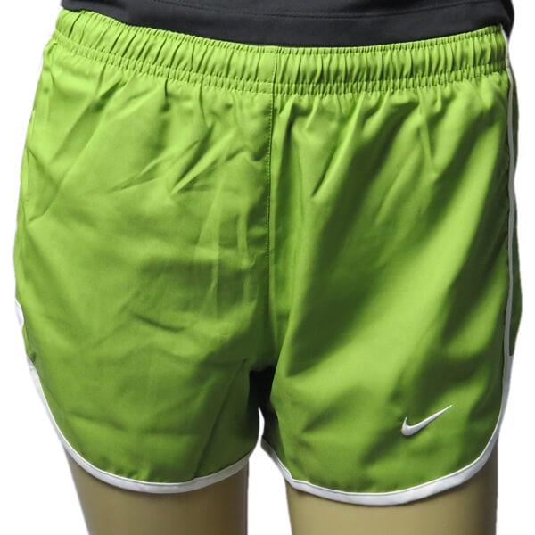 Shorts feminino Nike Run Tempo Track 3 verde 459581