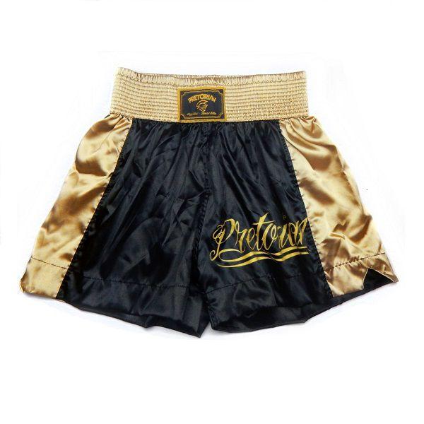 Shorts Pretorian Muay Thai E Boxe Calção De Treinos E Competições