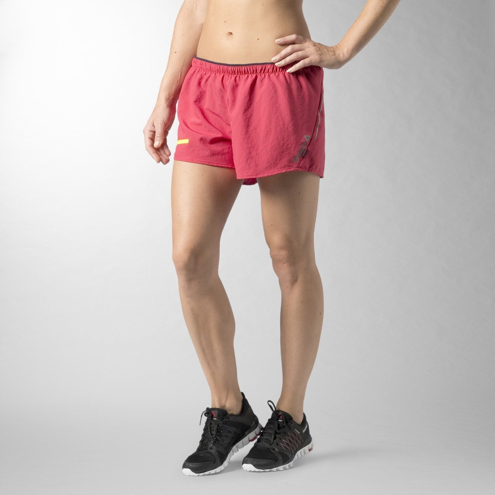 Shorts Reebok Osr 3 Run Corrida De Rua Crossfit Refletivo