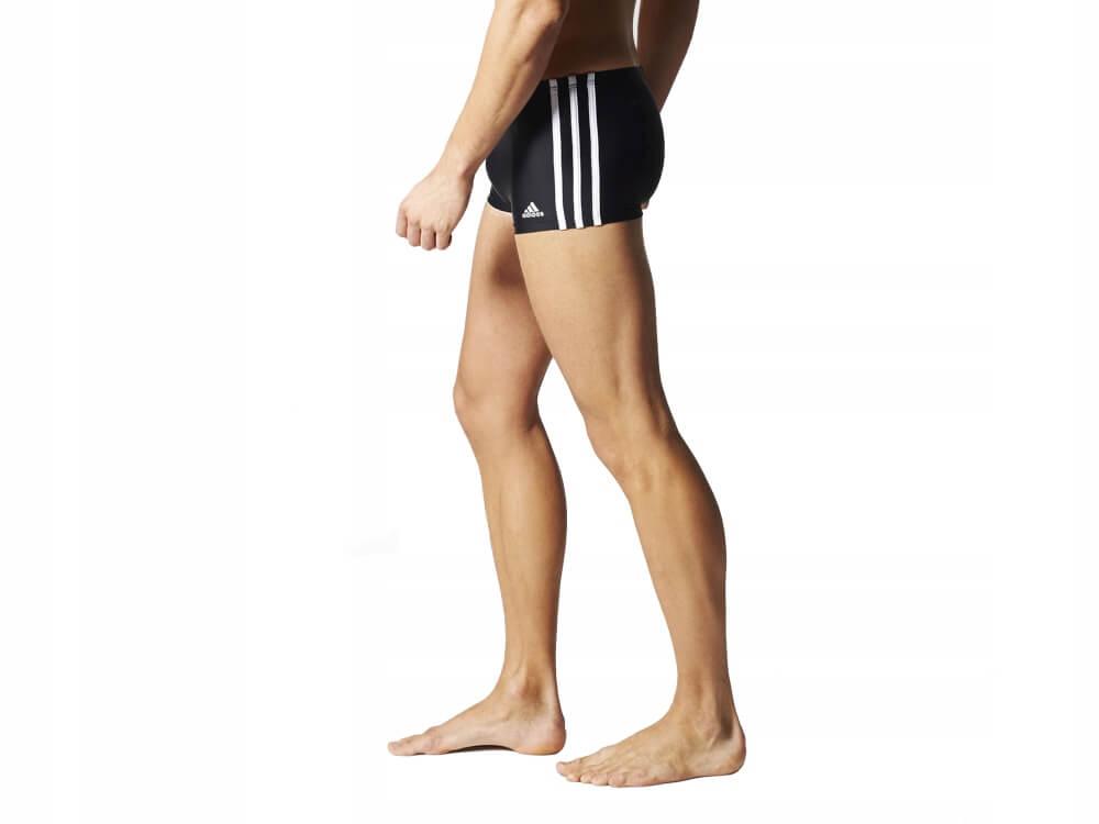 Sunga boxer Adidas Infinitex tradicional 3 listras natação s22932