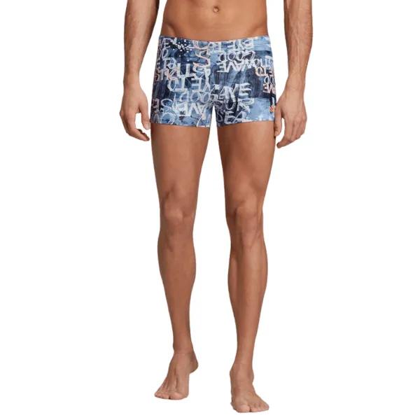 Sunga boxer Adidas Parley natação eh6267