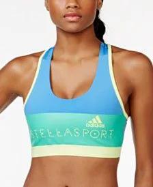 Top adidas Stellasport Com Bojo Média Sustentação Running