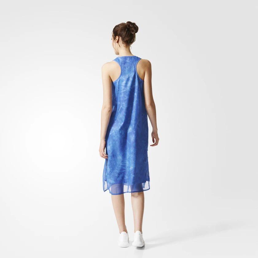 Vestido adidas Originals Estampado Moda Primavera Verão