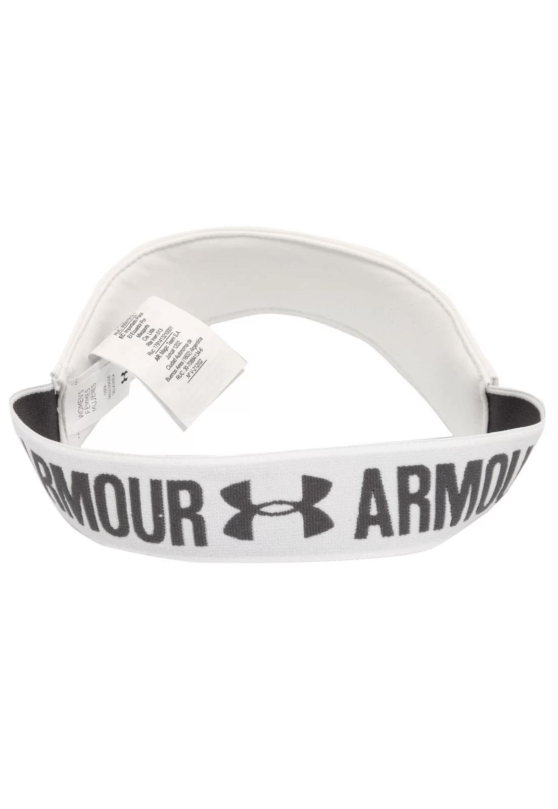 Viseira Under Armour Running Com Elástico Personalizado