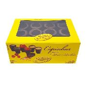 Copinhos De Chocolate C/24un Para Licor Rechear Siareg
