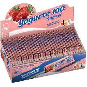 Pirulito Mastigável Yogurte 100 10gr C/50un - Dori