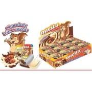 Creme Avelã Chocolate Bicolor Tradicional 10g C/48 - Nucita