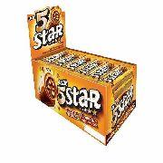 Chocolate Caramelo 5 Star 40gr C/18un - Lacta