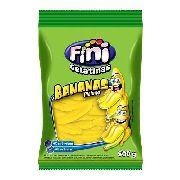 Bala De Gelatina Banana 500gr - Fini
