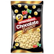 Amendoim Confeitado Chocolate Branco 500g - Kuky