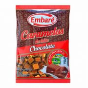Bala de Caramelo Chocolate 660g - Embaré