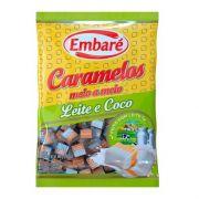 Bala de Caramelo Leite e Coco 660g - Embaré