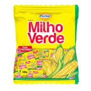 Bala De Milho Verde Pocket Cremosa 500g - Freegells