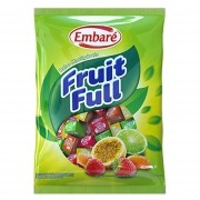Bala Mastigável Fruit Full Frutas 660g - Embaré