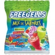 Bala Mix De Sabores 584gr - Freegells