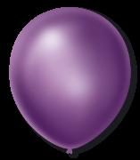 Balão São Roque Cintilante N°7 C/50un Violeta