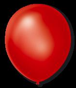Balão São Roque Cintilante N°7 C/50un Vermelho