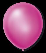 Balão São Roque Cintilante N°9 C/50un Rosa